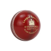 SF League Special Leather Cricket Ball Red