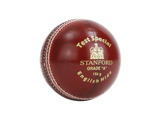 SF Test Special Leather Cricket Ball Red