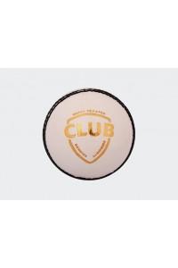 SG Club 4 Piece Leather Cricket Ball White Colour
