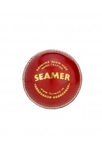 SG Seamer Leather Cricket Ball Red