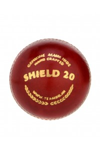 SG Shield 20 Leather Cricket Ball Red