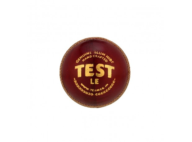 SG Test LE Limited Edition Red Leather Cricket Ball