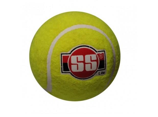 SS Soft Pro Light Tennis Cricket Ball Pack Of 6
