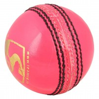 SG Club Pink Leather Cricket Ball