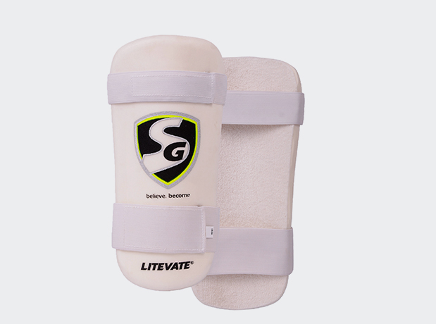 SG Litevate Cricket Batting Elbow Guard Mens And Youth