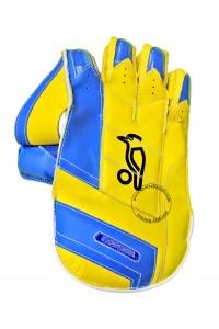 Kookaburra Pro Players Wicket Keeping Gloves Yellow