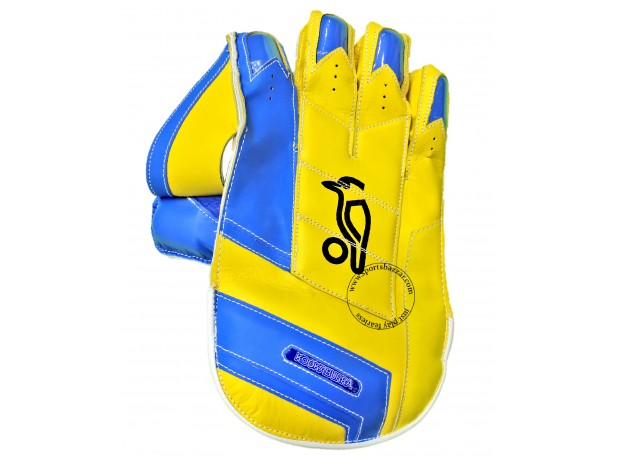 Kookaburra Pro Players Wicket Keeping Gloves Yellow
