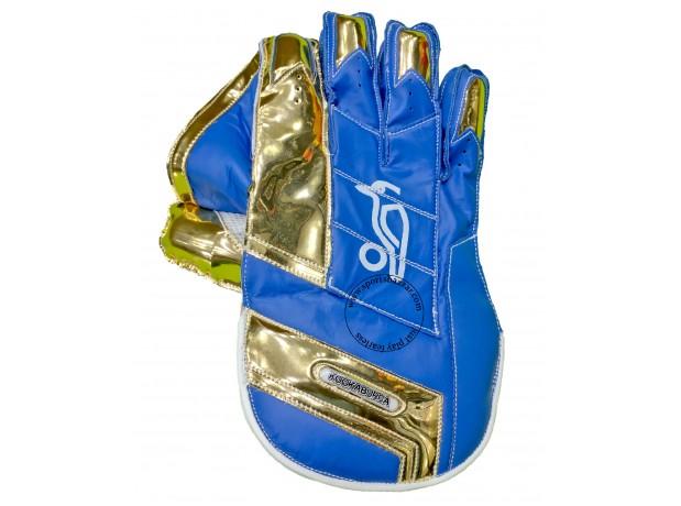 Kookaburra Blue Color Wicket Keeping Gloves IPL 2020