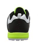 Kookaburra KCS 1500 Rubber Stud Cricket Shoes White Black and Lime