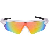 DSC Glider Cricket Sunglasses White Color