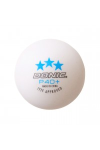 Donic P40+ 3 Stars Cell Free Table Tennis Ball