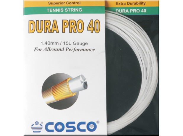 Cosco Dura Pro 40 Racket String